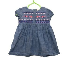 Baby B'Gosh Baby Girl Denim Dress 6M